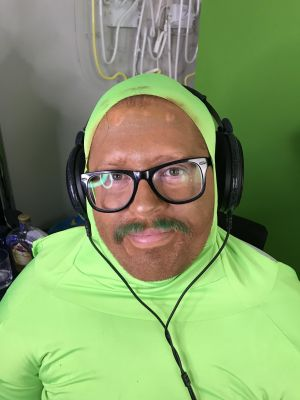 Wubby with an obscene amount of self tanner